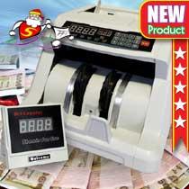 เครื่องนับธนบัตร พร้อมจอแยก Multi-Currency Counter (6600 UV/MG)